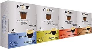100 Cápsulas Para Nespresso - Kit Degustação Café – Cápsula Aroma