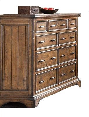 Amazon.com: Acme Muebles 24615 Grayson Dresser, Nogal oscuro ...