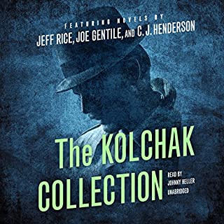 The Kolchak Collection audiobook cover art