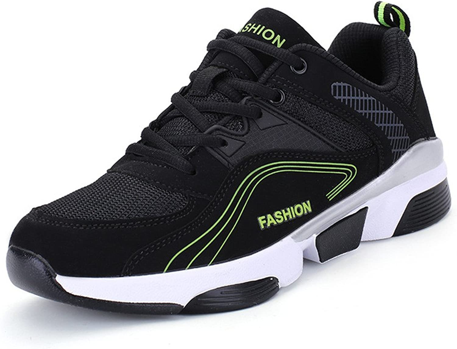 SKY-Maria Men's Fashion Sports shoes Outdoor Non-Slip Trainers Breathable Running shoes Comfortable Light Large Size Increase shoes 39-45