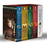 George R. R. Martin's A Game of Thrones 5-Book Boxed Set (Song of Ice and Fire series): A Game of Thrones, A Clash of Kings, A Storm of Swords, A Feast for Crows, and A Dance with Dragons (A Song of Ice and Fire)