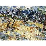Vincent Van Gogh Olive Trees Extra Large Art Print Wall