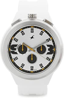 Fastrack Men's Multi Color Dial Resin Band Watch - 38002PP01