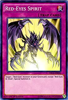Yu-Gi-Oh! - Red-Eyes Spirit (DRL2-EN020) - Dragons of Legend 2 - 1st Edition - Super Rare