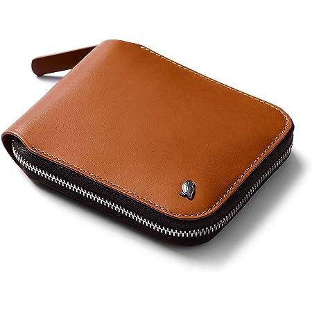 Bellroy Zip Wallet (8 Tarjetas o más, Billetes extendidos y Monedero con Cierre magnético) - Caramel