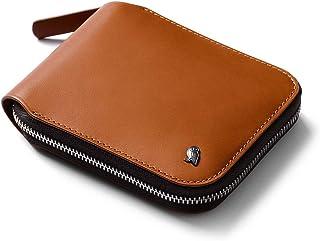 Bellroy Zip Wallet (8+ Cartes, Billets Plats, Porte-Monnaie à Fermeture aimantée Facile d'accès) - Caramel