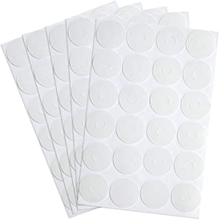 BBTO Adhesive Non-Slip Grips for Quilt Templates, Semi-Transparent (240 Pieces)
