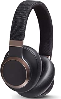 Noise Cancelling Bluetooth Headphones, AI Smart Headphones, with 30H Playtime Over Ear Headsets, Hi-Fi Stereo Built-In Microphone Foam Earmuffs, Over-Ear Bluetooth Headphones