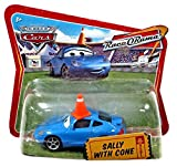 diecast car with cone