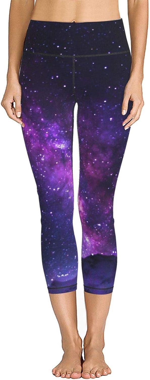 HRiu00@ Women's Galaxy Shimmering Over Yoga Nanga Max 53% OFF High Waist SALENEW very popular! Cap