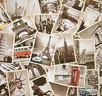 Dxhycc 32 PCS 1 Set Vintage Retro Old Travel Postcards for Worth Collecting 【Creative Arts】 [並行輸入品]