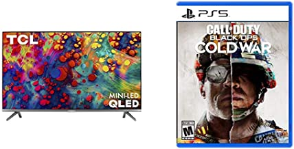 "$719 » TCL 55"" 6-Series 4K UHD Dolby Vision HDR QLED ROKU Smart TV - 55R635 & Call of Duty: Black Ops Cold War - PS5"