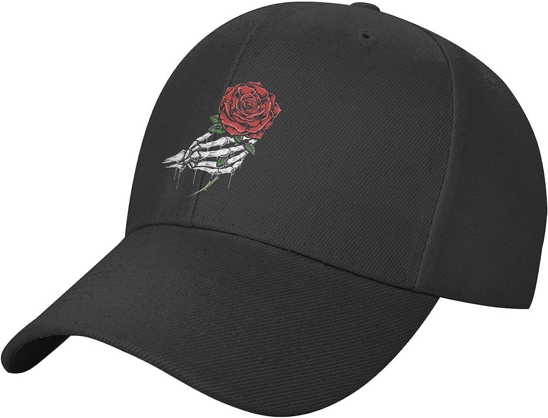 Horror Skull hat Baseball Cap, Adjustable Trucker Hat, Golf Hat Sun Dad Hats for Men Women Outdoor