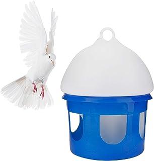 Esenlong Alimentador de agua para pájaros, gran capacidad, dispensador de agua, accesorios para mascotas y palomas (4 L)