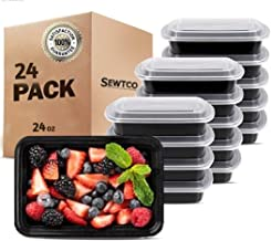 Meal Prep Containers 24 Pack, Microwave Freezer Safe Food Storage Containers Meal Prep, The Best Disposable Plastic Food P...