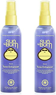 Sun Bum Blonde Tone Enhancer, Color Enhancing Blonde Leave In Hair Treatment Spray, Paraben Free, Sulfate Free, 4 fluid ou...