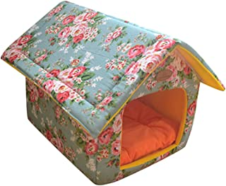 Pet Supplies Home Sweet Home Bed Indoor Outdoor House Bed Shelter for Dogs Cat Puppy