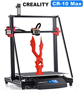 Creality CR-10 MAX 3D Printer with BL Touch Matrix Automatic Leveling, Touch Screen and Bondtech Extruder Gears Large Build Volume 450mmx450mmx470mm
