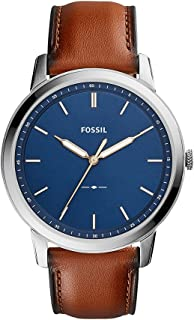 Fossil Men's FS5304 The Minimalist Three-Hand Light Brown Leather Watch