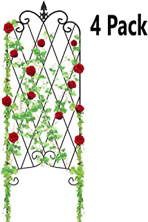 Amagabeli 4 Pack Garden Trellis for Climbing Plants 47