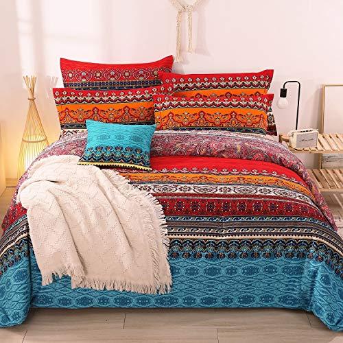 YOU SA 100% Brushed Cotton Boho Bedspreads/Coverlet Sets/Comforter...