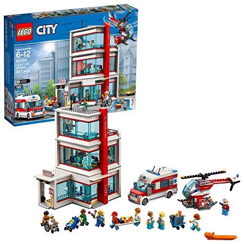 Lego City L'hôpital City 60204 (861 pièces)