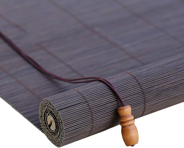 estar en gran demanda Persianas Enrollables De Bambú Bambú Bambú Natural para Puertas Patios Balcones, Persianas Enrollables Parasoles, 50% De Filtrado De Luz (Tamaño   50×90cm)  80% de descuento