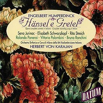Engelbert Humperdinck: Hänsel e Gretel (Complete recording sung in Italian), Herbert von Karajan