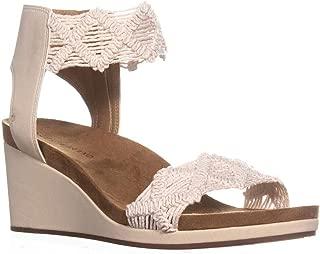 Lucky Brand Womens Kierlo Solid Platform Sandals