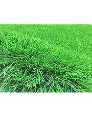 عشب صناعي 40 ملم ( مقاس: 4 × 1 م) عرض متر مربع وطول 4 متر مربع