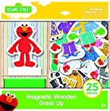 TCG Toys Sesame Street 25Piece Magnetic Wood Dress Up Puzzle