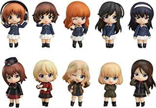 Good Smile Girls Und Panzer Nendoroid Petit 01 Action Figures Random Blind Box (Set of 12)