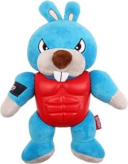 Gigwi I'M Hero Squeak Toy, Blue/Red