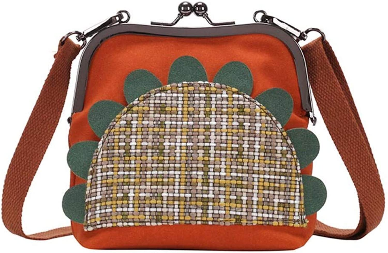 Zyup Crossbody bag Crossbody Vielseitige Mode Umhängetasche Orange B07QM7JJ8K    Elegant fe7dcb