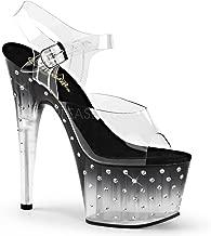Pleaser Women's STDUS708T/C/B-C Platform dress Sandal