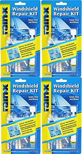 Rain-X 600001 Windshield rFKiZ Repair Kit, 0.035 Oz (4 Pack)