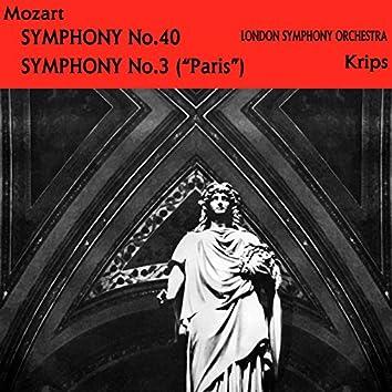 Mozart: Symphony No. 40 & No. 31