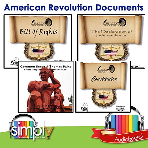 American Revolution Documents audiobook cover art