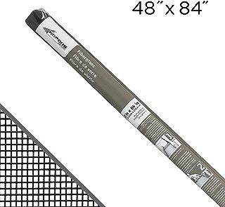 "ADFORS Standard Window Screen, 48"" x 84"", Charcoal"