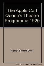 The Apple Cart Queen's Theatre Programme 1929