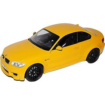 BMW 1er 1M E82 Coupe Schwarz 2007-2013 Nr 018 1//18 GT Spirit Modell Auto mit ode