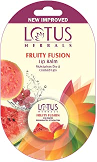 Lotus Herbals Lip Balm, Fruity Fusion, 5g