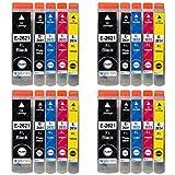 4 GB Inks Tintenpatronen, ersetzt Epson T2636 (26XL Series) Kompatibel/Non-OEM, für Epson Expression Premium Drucker (20 Farben)