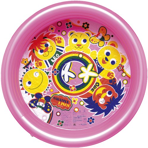 Happy Savannah Pool (Pink) 80X30cm PLH-180PK (japan import)