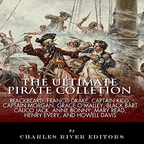 The Ultimate Pirate Collection audiobook cover art