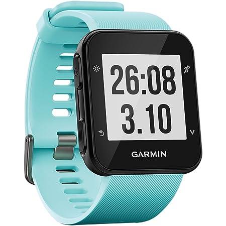 Garmin Forerunner 35- Reloj GPS con monitor de frecuencia cardiaca en la muñeca, monitor de actividad y notificaciones inteligentes, color turquesa