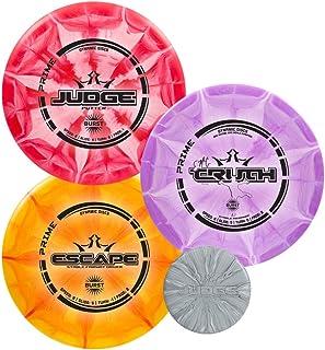 Dynamic Discs Prime Burst Disc Golf Starter Set | Beginners Frisbee Golf Set | Sets..