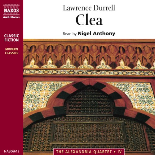 Clea audiobook cover art