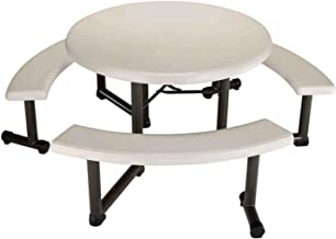 Best round plastic picnic table Reviews