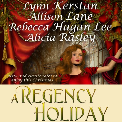 A Regency Holiday audiobook cover art